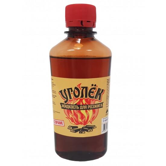 Жидкость для розжига 0.25л. Смесь жидких парафинов и углеводородов