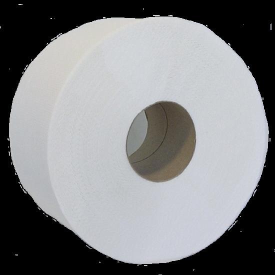 Бумага диспенсерная белая 1 слойная